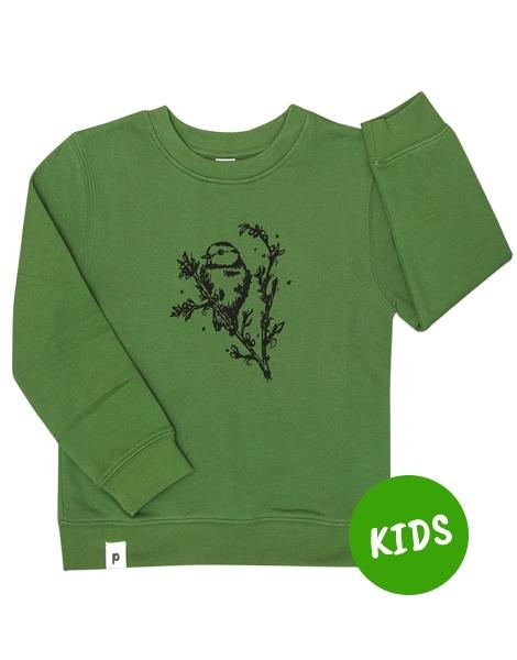 Mara Meise - Kinder Bio Sweater - Organic Cotton - Grün