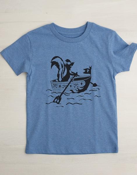 Sven Stinktier - Fair Wear T-Shirt - Mid Heather Blue