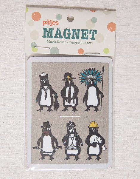 YMCA Pinguine - Magnet