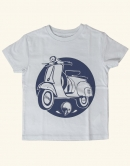 Schaltroller - Fair Wear Kinder T-Shirt - Hellblau