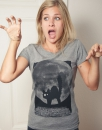 Minka Fauch - Fair Wear Frauen T-Shirt - Mid Heather Grey