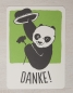Preview: Danke Panda - Postkarte