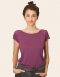 Preview: Lola Blanko V2 - Basic Tencel Frauen T-Shirt - PurpleLila