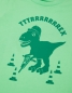 Preview: Theo Tttrrrrex der Bauarbeiter Dino - Fair Wear Kinder T-Shirt - Grün