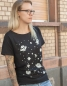Lost in Space - Fair gehandeltes T-Shirt - Slub Black