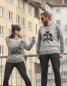 Preview: Otter Schotter Gang - Unisex Fair Wear Sweater - Heather Grey/Grey
