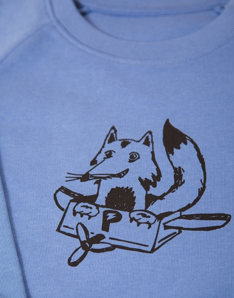 Freddy Fox - Fair Wear Kinder Sweater - Blau