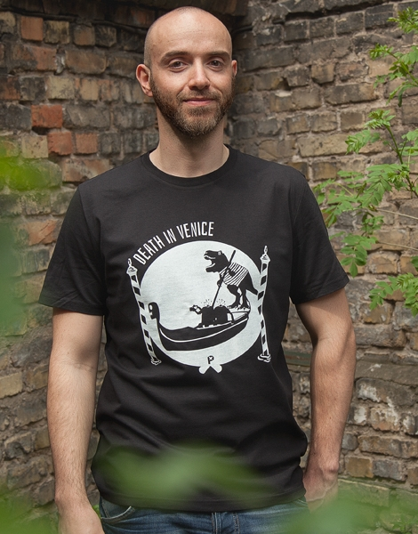Death in Venice - Fair Wear Männer T-Shirt - Black