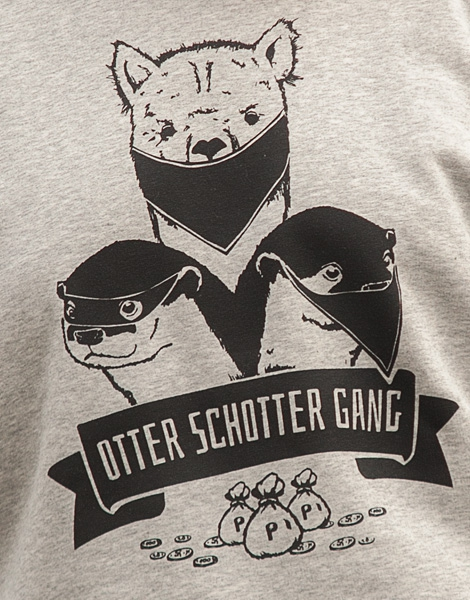 Otter Schotter Gang - Unisex Fair Wear Sweater - Heather Grey/Grey