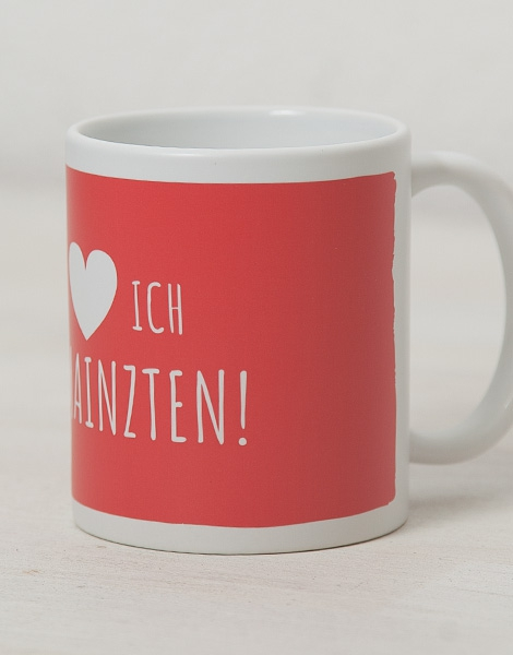Am Mainzten - Tasse - Rot
