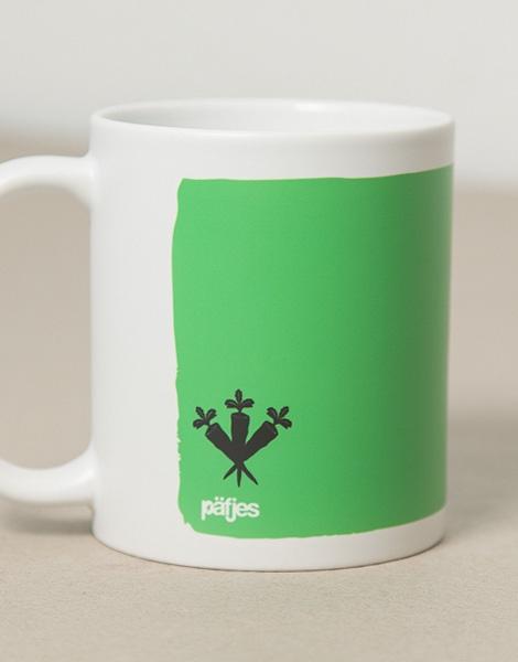 Guten Morgen Hase Tasse Grün