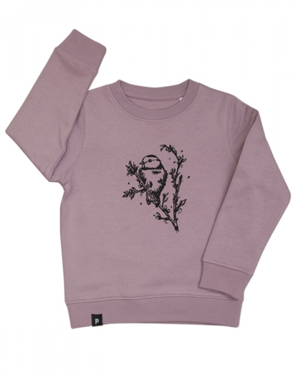 Mara Meise - Fair Wear Kinder Sweater - Lilac
