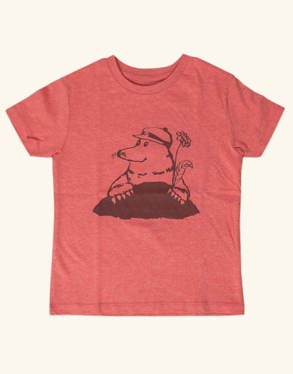 Marlene Maulwurf - Fair Wear Kinder T-Shirt - Heather Red