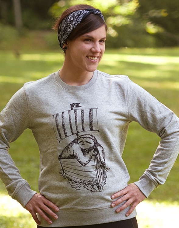 Felix Faultier - Unisex Fair Wear Sweater - Heather Grey